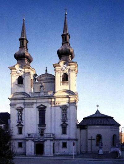 Костел Вознесения Богоматери и монастрырь Премонстратов