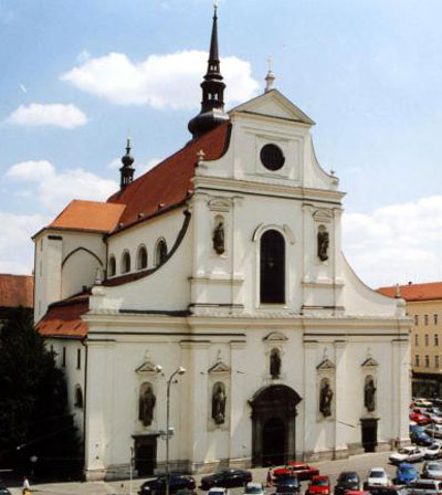 Костёл Томаша в Чехии (Брно)