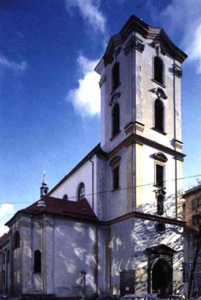 Костёл Вознесения Богоматери в Брно