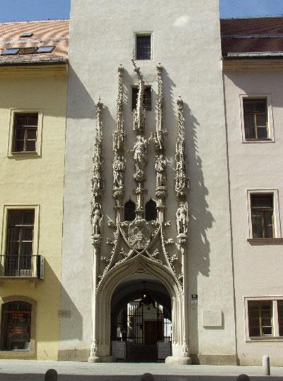 Старая ратуша в Брно