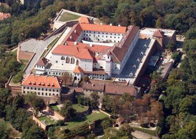 Замок Шпильберк в Чехии