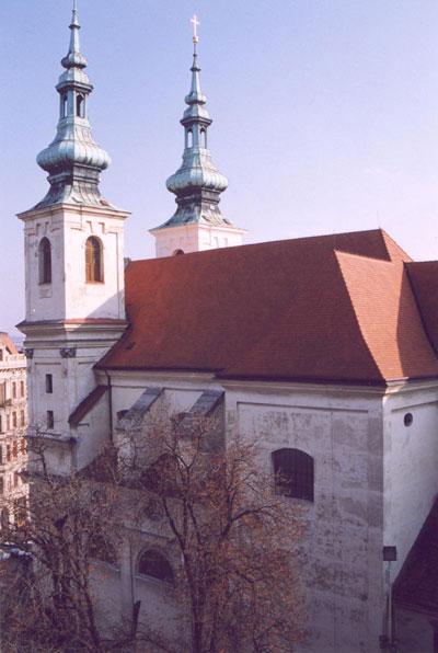 Костёл Святого Михаила Брно