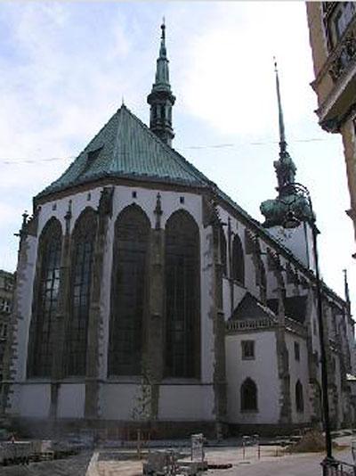 Костёл святого Якуба в Брно