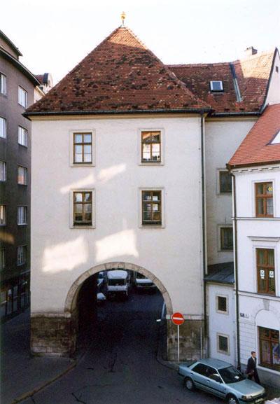 Менинские Ворота в Брно